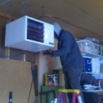 Reznor UDAP Unit Heater Installation - Minnesota Heating and Air Conditioning