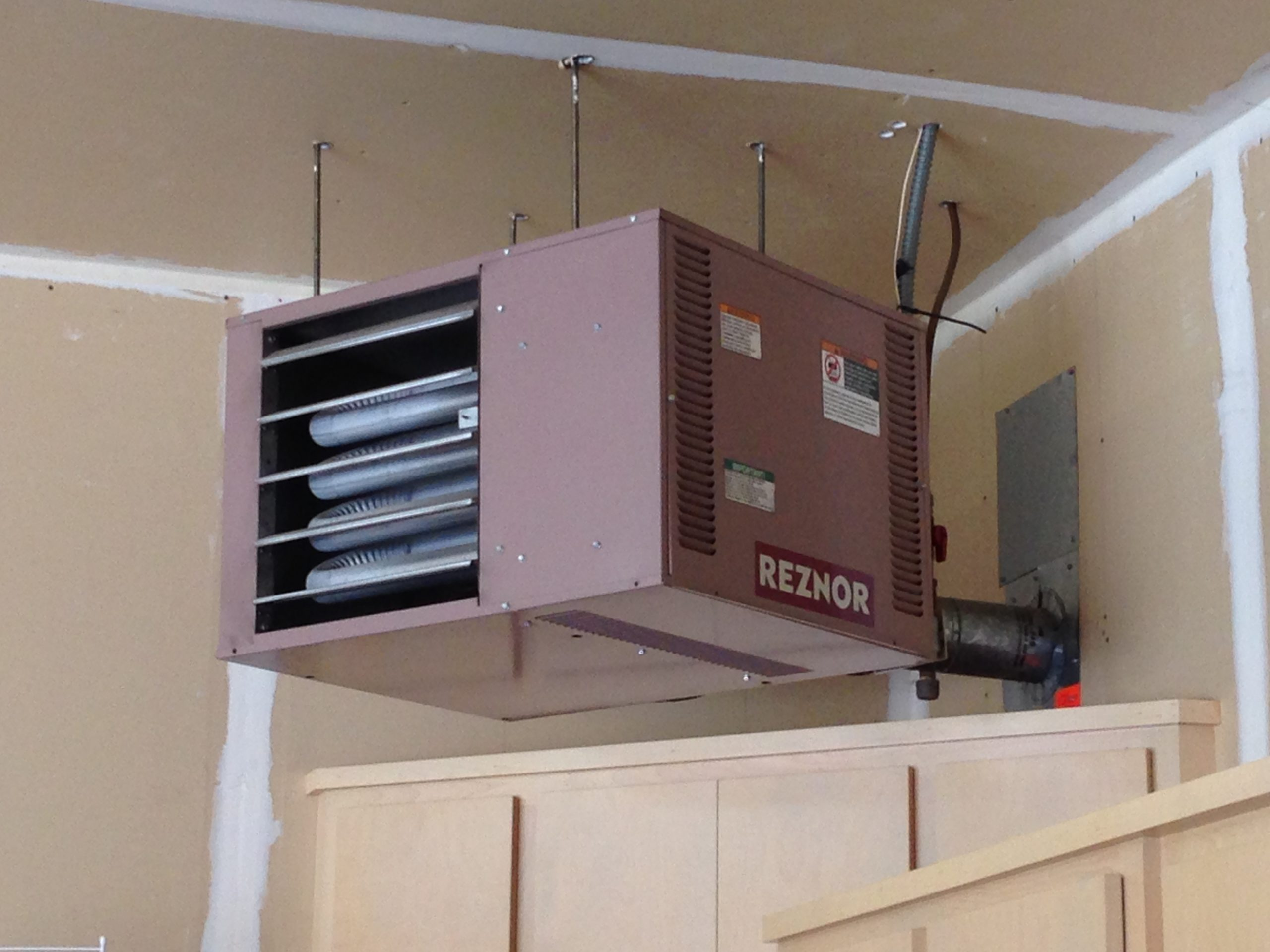 Reznor Garage And Shop Heater Minnesota Heating And Air