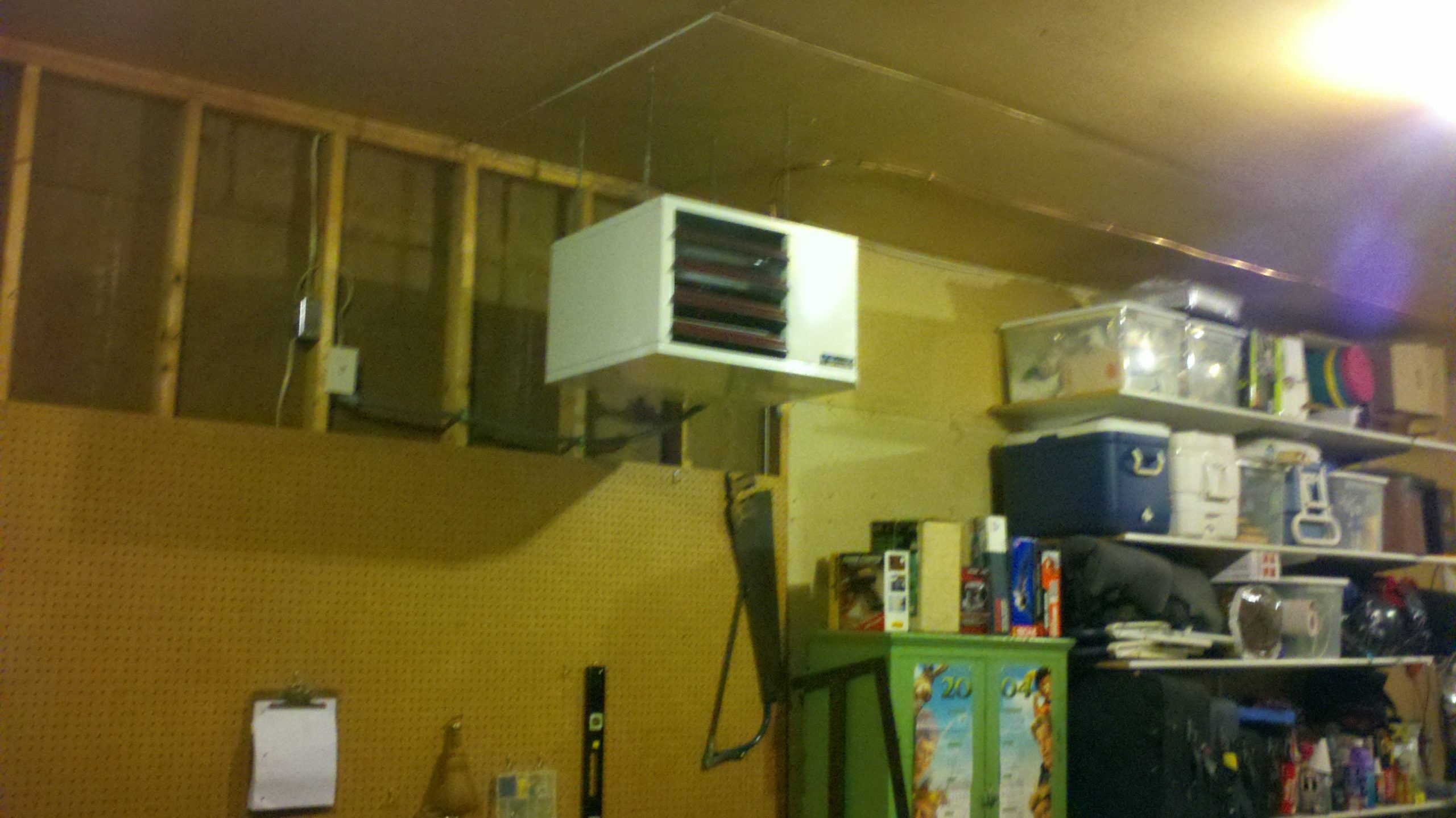painting portable unionville heater air reznor and image conditioner newair garage heating heaters steel