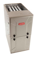 Bryant Evolution 90% Gas Furnace - Professionally installed and serviced by Minnesota Heating & Air Conditioning.