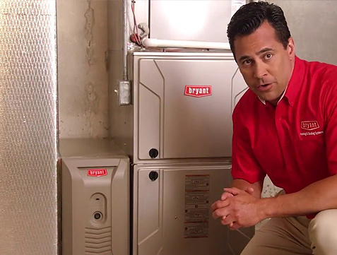 Bryant High Efficiency Residential Replacement Gas Furnaces